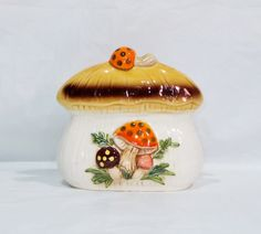 Other Collectible Kitchenware Vintage Dishes, Vintage Kitchen, Kitchenware, Stuffed Mushrooms, Napkins, Kitchens, Merry, Jar, Home Decor