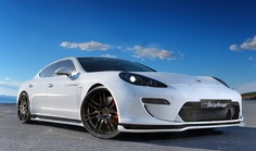 Porsche Panamera -- a new concept for Porsche that takes some getting used to, but is an incredibly spectacular car.