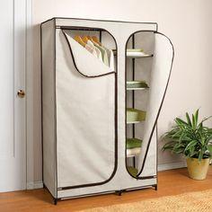 53 Portable Closet Storage Organizer Wardrobe Clothes