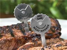 Set of 4 Dial-a-Meat Markers by Charcoal Companion