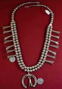 """""""Indian Old Pawn Necklaces, Page 23"""""""