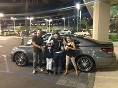 "Nerium Intl ""First Family"" picked up their New Lexus!  Way to go!  #lexus #bonus"