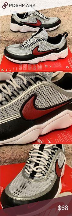 Nike Zoom Spiridon (BlackBlack Bright Crimson) – amongst few