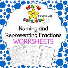 math worksheet : identifying fraction worksheets  what s new  pinterest  : Math Superstars Worksheets