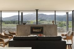 Threepwood Residence by Team Green Architects Sustainable Architecture, Architecture Design, Passive House Design, Freestanding Fireplace, Shed Homes, Architect House, New Builds, Beautiful Space, Decoration
