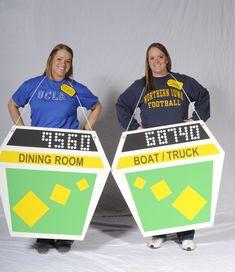 Jenny Podrebarac, 27, and Katie Podrebarac, 25, as The Price is Right Showcase Contestants.