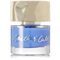 Smith & Cult Nail Polish - Exit the Void found on Polyvore featuring beauty products, nail care, nail polish, makeup, light blue, formaldehyde free nail polish and shiny nail polish