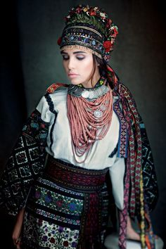 "Щирі / Sincere. Costume early twentieth century Ternopil region. The presentation of the charity project ""Sincere"" dedicated to traditional Ukrainian costume"