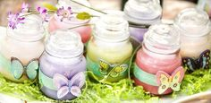 Butterfly Candle Favors