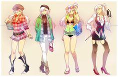 costume designs - bones by *einlee