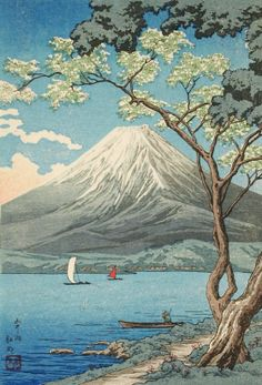 Lake Yamanaka, Japan | visit collections lacma org