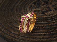 Gold & Antique Bangles jewellery designs – Navrathan Jewellers