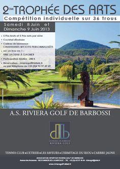Passionnés de golf ? Les 8 et 9 juin participez à notre 2ème Trophée des Arts !    http://blog.ddeb.fr/2eme-trophee-des-arts-les-8-et-9-juin-au-riviera-golf-de-barbossi/