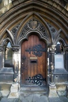 Fancy Door Knobs Entrance New Ideas Cool Doors, Unique Doors, Entrance Doors, Doorway, Door Knockers, Door Knobs, Gloucester Cathedral, When One Door Closes, Door Gate