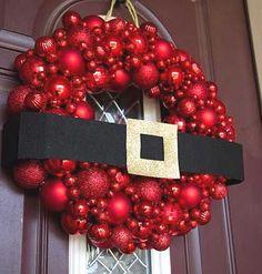 32 DIY Christmas Wreath for Your Front Door - http://www.clickypix.com/32-diy-christmas-wreath-front-door/ #ChristmasWreath, #DiyWreaths, #Wreaths