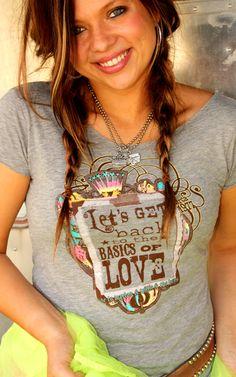 LOVE this shirt. Basics of love.