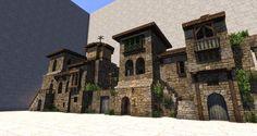 Minecraft Blueprints, Minecraft Designs, Minecraft Creations, Minecraft Projects, Cool Minecraft, Fantasy Town, Fantasy Map, Minecraft Structures, Minecraft Buildings