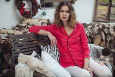 ❄️ Colectia de pijamale Uniconf de iarna ❄️ Comfy Pajamas, Pajamas Women, Blazer, Jackets, Fashion, Down Jackets, Moda, Pajamas For Women, Fashion Styles