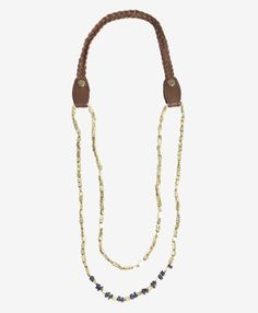 (have it and love it) Noonday Golden Rivers Necklace