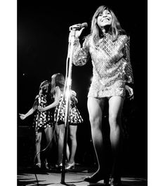 """124 Likes, 2 Comments - Ike & Tina Turner (@ike.tinaturner) on Instagram: """"Tina and the Ikettesat the LA Forum opening for The Rolling Stones in November1969. • • •…"""""""