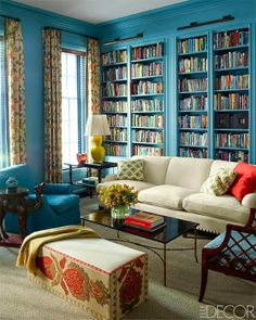 Mix and Chic: Home tour- A bold and colorful Manhattan townhouse!