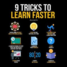 Tricks To Learn Faster! Visit For More Ideas & Business Motivation Today! -Nine Tricks To Learn Faster! Visit For More Ideas & Business Motivation Today! Study Skills, Life Skills, Life Lessons, Study Motivation Quotes, Business Motivation, Motivation Success, Success Quotes, Learning Websites, Learning Resources
