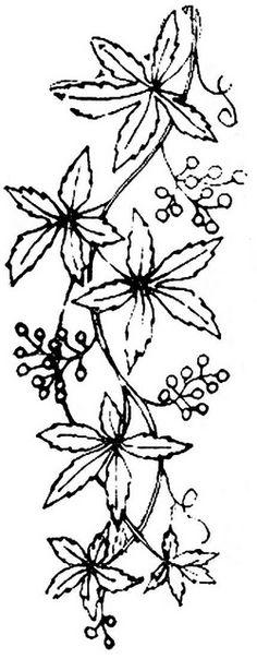 1886 Ingalls Floral Branch by jeninemd, via Flickr