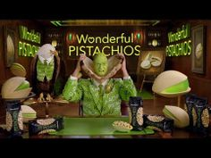 Stephen Colbert's Wonderful Pistachios Ad I will never forget the tiny, green mini-Colbert inside Stephen Colbert's cracked-open head in part 2 of this commercial.