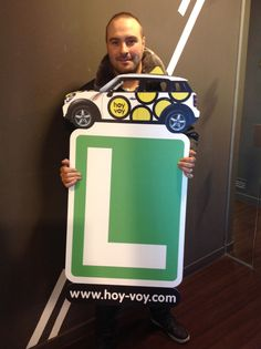 KENNETH MORALES!!! #newdriver #hoyvoy #autoescuela #barcelona #granollers