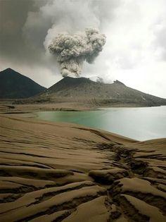 Tavurvur Volcano near Rabaul in Papa New Guinea by tarotastic on flickr