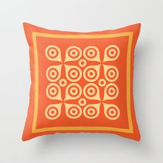 Another CO Garphic series  Throw Pillow by Another-CO - $20.00