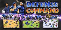 Android Games Defense Command Description :  A 'Real' Real-Time Strategy game for Android!  The Planet has been INVADED! The World's Military enslaved by an Alien Mind Control Device! Only ONE Battle Squad remains.  Shielded in their underground bunkers, our heroes emerge into a Fight for Survival. The Invaders must be stopped at all costs!