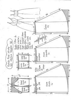 Sewing Patterns Free, Clothing Patterns, Dress Patterns, Fashion Sewing, Diy Fashion, Sewing Clothes, Diy Clothes, Dress Up Wardrobe, Costura Fashion