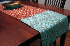 Sharon Sews: DIY: How to sew a table runner with one yard of fabric