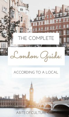 The Complete London Guide: According to a Local - looking for a travel guide for things to do in London, England? From the best coffee shops, what to do, and where to eat in this jewel of an English city, we've got it all directly from a local! These litt Sightseeing London, London Travel, London Eye, Nye London, Travel Outfit Summer Airport, The Places Youll Go, Places To Visit, Places To Travel, Travel Destinations