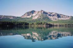 My favorite lake: Paulina Lake in Central Oregon!