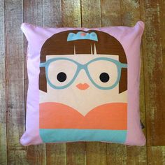 Mireille Cushion Cover, 24€, now featured on Fab.