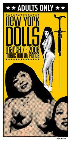 At. Vox Pop, New York Dolls, 2008