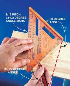 Get the most out of this handy little triangle #woodworkingprojects