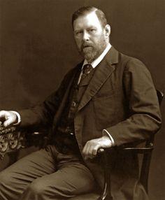 """Biografia di Bram Stoker - Scrittore irlandese, autore di """"Dracula"""" (8 novembre 1847 - 20 aprile 1912)"""