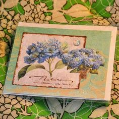 QuiltBee: one of Linda's beautiful cards