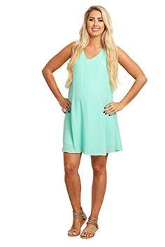 71b1ee14b2 PinkBlush Maternity Basic Chiffon Dress at Amazon Women s Clothing store