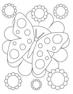 Motýl zbarvení stránky