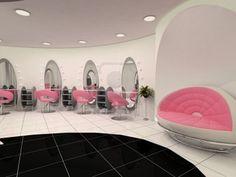A Unique Hair Salon Beauty Interior Design Decor