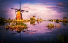 Kinderdijk Holland. by Remo Scarfò #xemtvhay