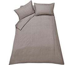 Buy Collection Bella Sateen Mocha Bedding Set - Double at Argos.co.uk, visit Argos.co.uk to shop online for Duvet cover sets, Bedding, Home and garden