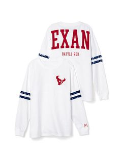 Houston Texans Bling Varsity Crew PINK #NFLFANSTYLE #contest