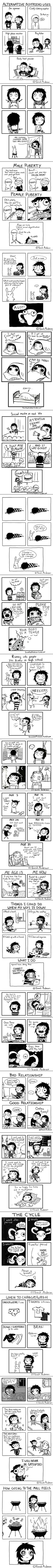 Girl's Problems And Everyday Lives In Hilariously Honest Comics (By Sarah Andersen) - 9GAG