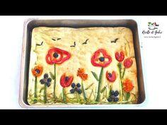Focaccia Bread Recipe, Bread Recipes, Baking Recipes, Artesian Bread, Pretzel Roll Recipe, Bread Art, Sicilian Recipes, Dessert Bread, Sandwich Cake