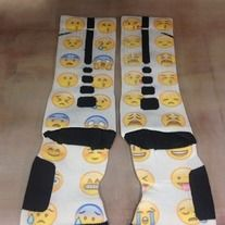 "Products · Custom Nike Elite Socks ""Emojis"" · Sock Insanity's Store"